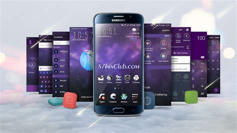 themes samsung edge how to download samsung galaxy s7 themes