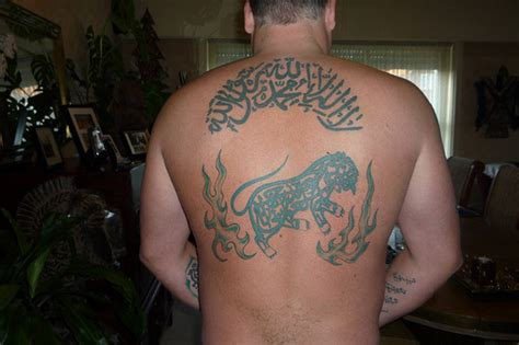 muslim tattoos for men alwayswannafly