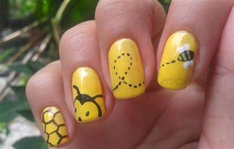 imagenes de uñas bien pintadas u 241 as decoradas color amarillo u 241 asdecoradas club