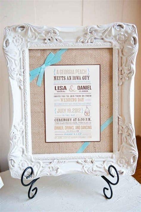 wedding invitation gift ideas best 25 framed wedding invitations ideas on wedding invitation images wedding