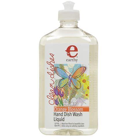 earthy orange earthy orange blossom hand dish wash liquid household