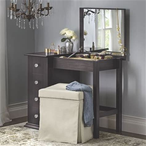 vanity and jewelry armoires jewelry armoire vanity from midnight velvet v8742497