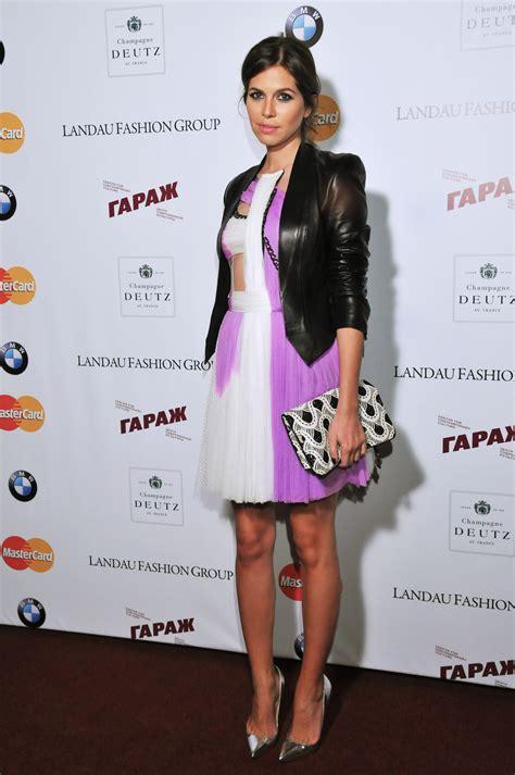 pop magazine editor dasha zhukova  rodarte dress