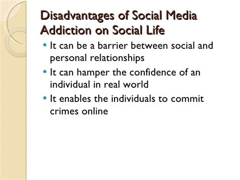 thesis about social media addiction advantages and disadvantages of social network