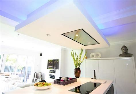extractor fan over kitchen island naindien ceiling extractor installation idea installed in dropped
