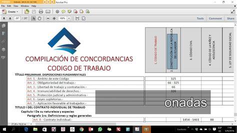 codigo de trabajo reformado 2016 download pdf codigo de trabajo ecuador youtube