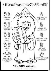 10 commandments coloring page ten commandments coloring pages coloring home