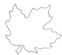 template leaves glenda s world leaf templates