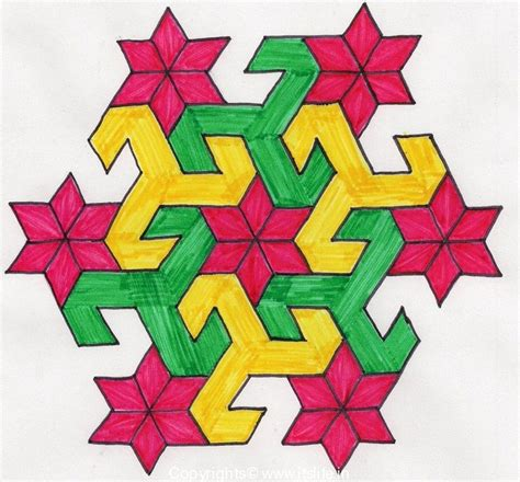 geometric pattern rangoli geometric rangoli maths pinterest parrots and do it