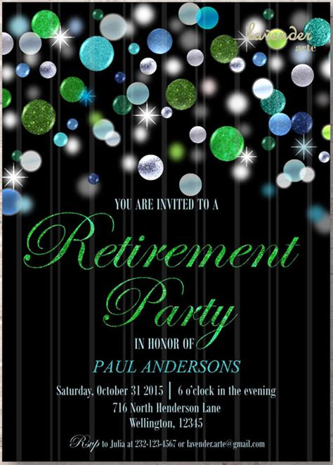 12 Retirement Party Invitations Sle Templates Retirement Flyer Template Powerpoint