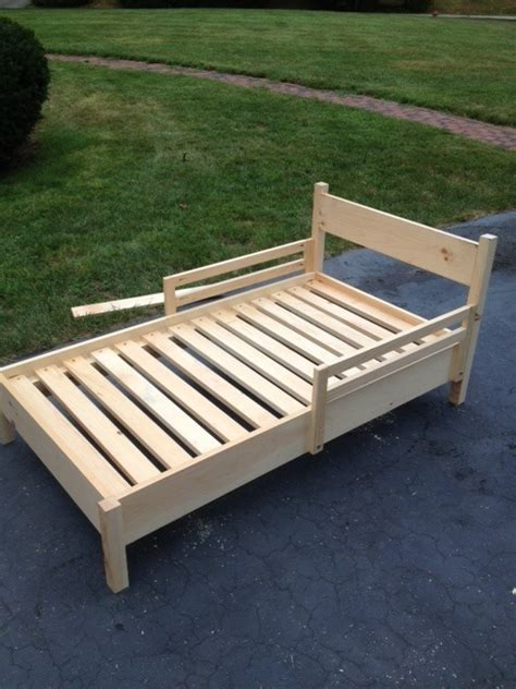 ana white toddler bed diy projects