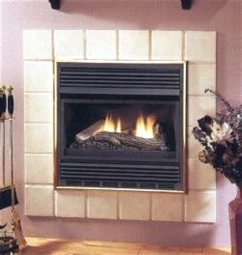 vanguard compact gas fireplace system