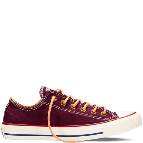 Converse All Peached Ox converse chuck all peached canvas cherry low top