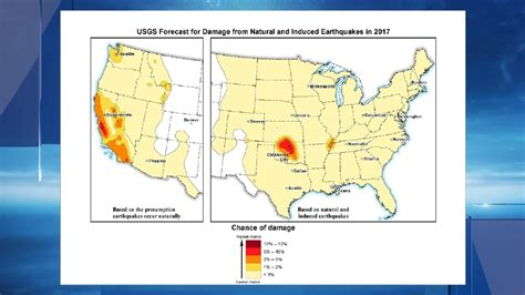 earthquake forecast forecast parts of central california have highest risk