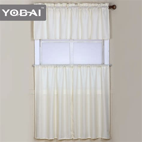 inexpensive kitchen curtains european style cheap kitchen window curtain from china