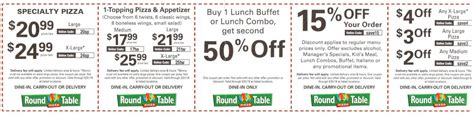 Table Discount Code by New Table Pizza April May 2016 Coupons Buyvia