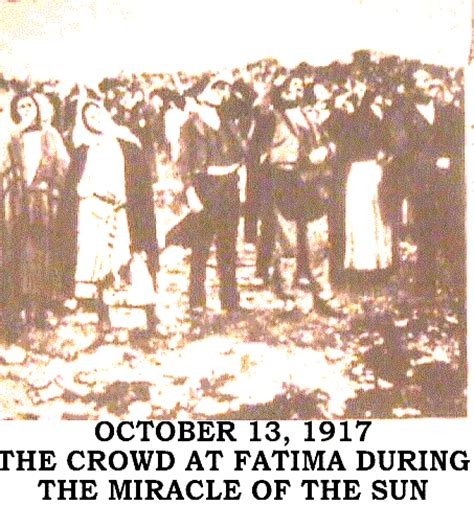 The Miracle Of Our Of Fatima The Blueprint Science For The Ages Eyewitness Account Of Fatima S Miracle Of The Sun