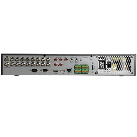 Dvr Cctv Hikvision hikvision ds 7300hqhi sh 8 16 channel turbo hd tvi 1080p