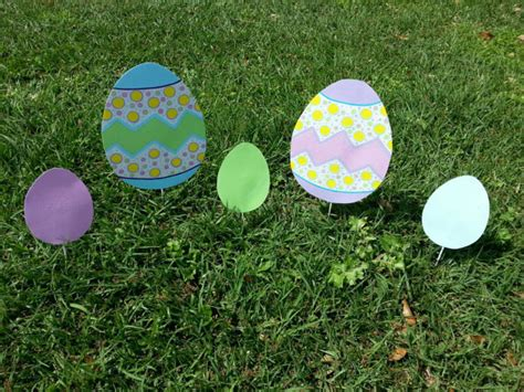 easter yard decorations garden decor easter garden art easter