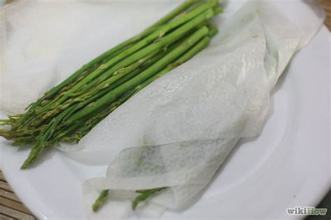 4 ways to steam asparagus wikihow