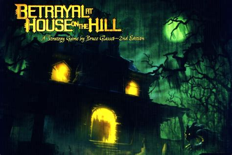 buy betrayal at the house on the hill across the board games tabletop game design art production