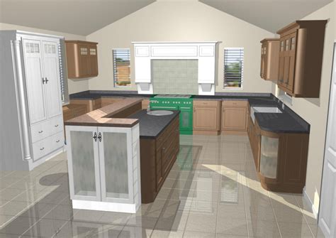 Small Home Designs 3d Of Elevation Kitchen