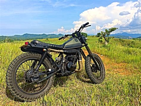 Suzuki Ts 125 bike feature suzuki ts 125 scrambler by 3b customs from