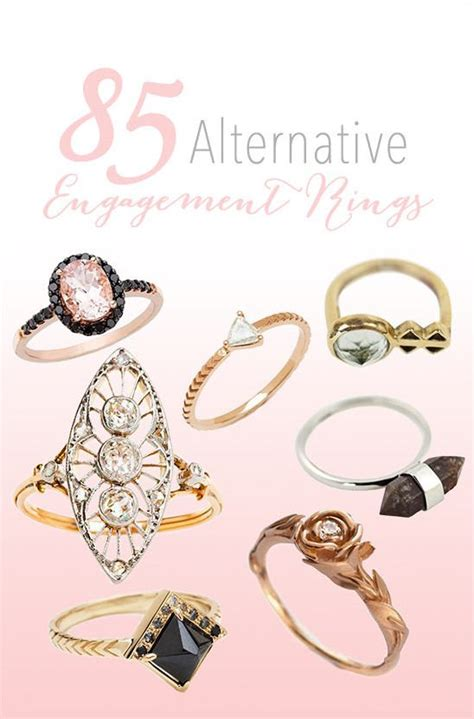Alternative Engagement Rings by Trending 85 Alternative Engagement Rings