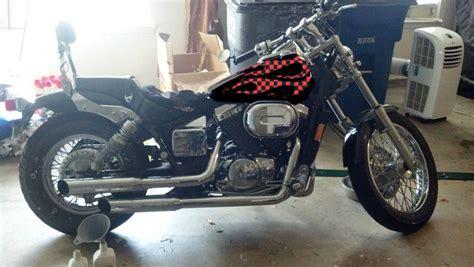 Gc Shadow Black Silver new paint honda shadow forums shadow motorcycle forum