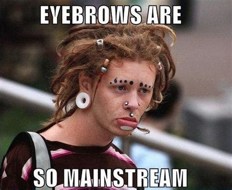Eyebrows Meme Internet - funny strange eyebrows 12 pics