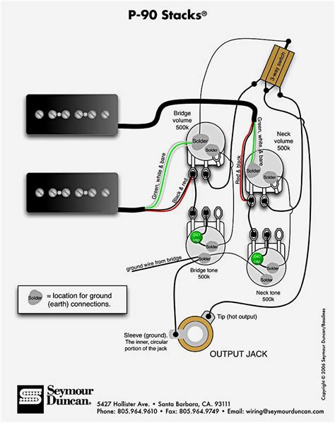 les paul output wiring diagrams wiring diagrams