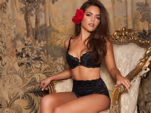 Valance Width Olympia Valance Sizzles In Her Latest Lingerie Shoot For