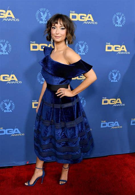 milana vayntrub attends  st annual directors guild  america awards  hollywood celeb donut