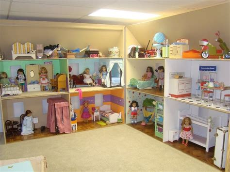 ag doll house american girl dollhouse love this i don t have a girl but if i d