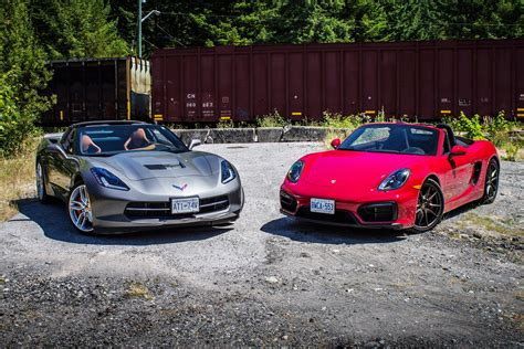 comparison test 2015 chevrolet corvette stingray vs 2015