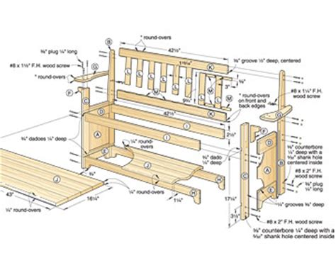 sitting bench plans download wood plans page 3