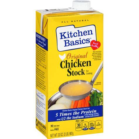 Kitchen Basics Chicken Stock Unsalted Kitchen Basics Chicken Unsalted Stock 32 Oz Pack Of 12