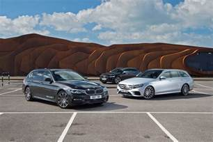 Bmw V Bmw 5 Series Touring Vs Mercedes E Class Estate Vs Volvo