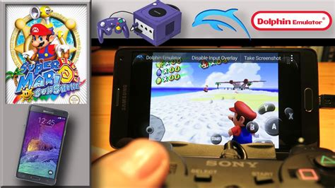 how to use dolphin emulator on android nintendo gamecube emulator on samsung galaxy note4 dolphin emulator mario