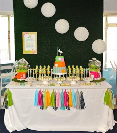 Golf Themed Baby Shower by Preppy Golf Themed Baby Shower Operation Shower