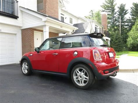 where to buy car manuals 2008 mini cooper seat position control find used 2008 mini cooper s red with black cloth interior manual clean title in rochester