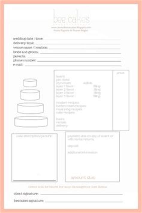 cake order receipt template invoice template templates free and software on