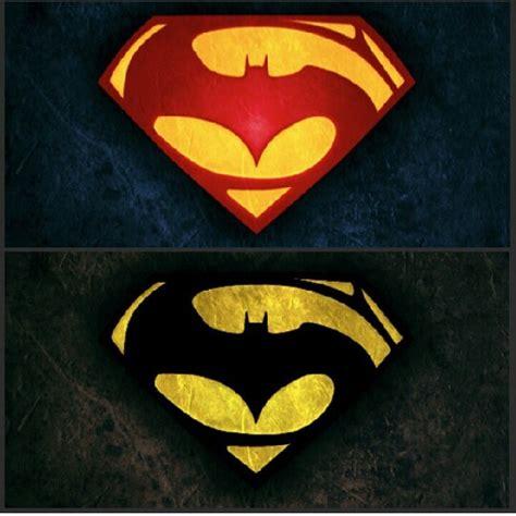 Kalung Logo Superman Vs Batman superman batman logo batman