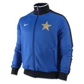 Hem Intermilan New nike inter milan n98 soccer track top royal blue white