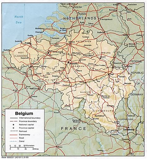 a map of maps of belgium detailed map of belgium in