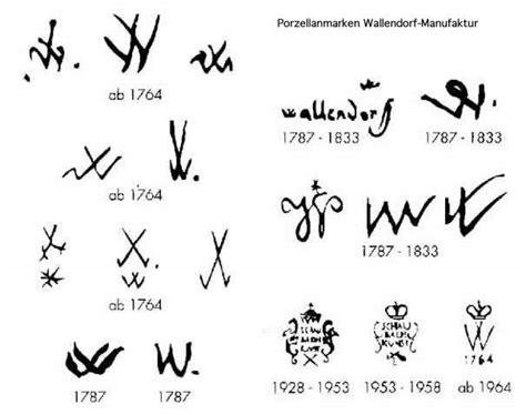 Porzellanmarken Krone W by Fabrikmarken Porzellan Figuren Im 18 Jahrhundert Auf