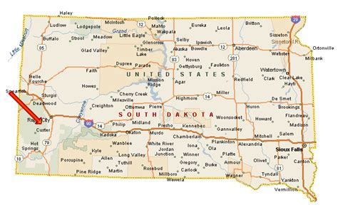south dakota in usa map 26 lastest map south dakota mt rushmore bnhspine