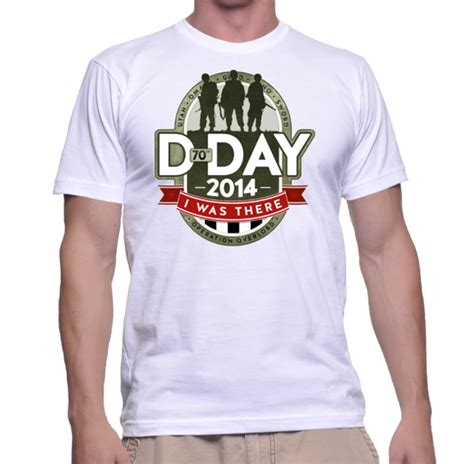 Tshirt D d day i was there t shirt war history store