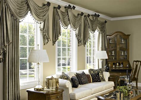 living room window valances 10 curtain ideas for an elegant living room
