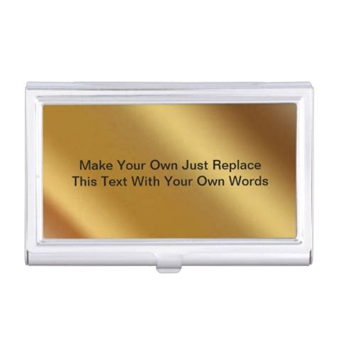 make your own business cards make your own business card holder zazzle